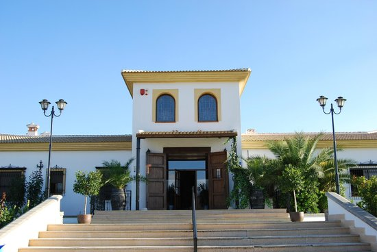 Cortijo de Tajar Hotel: Entrada del Hotel