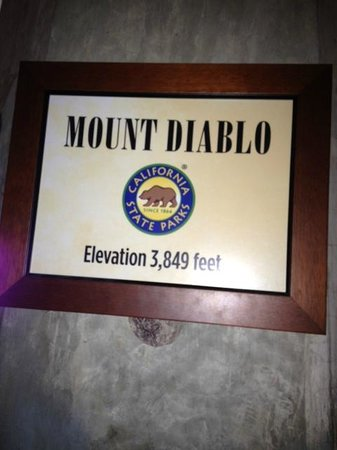 Mount Diablo State Park:                   The summit! 3,849 feet!