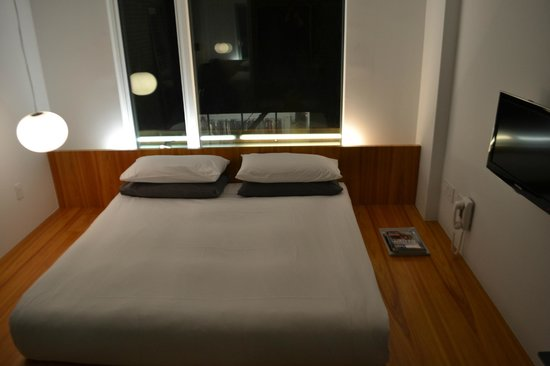 Hotel Americano:                   Asian-style floor bed