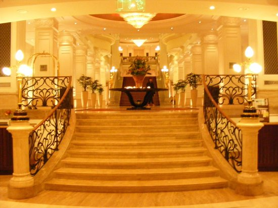 Corinthia Hotel Budapest:                   Hotel Lobby