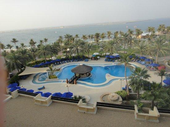 JA Jebel Ali Beach Hotel : View from our balcony