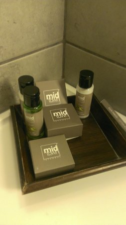 Midtown Hotel: Bathset