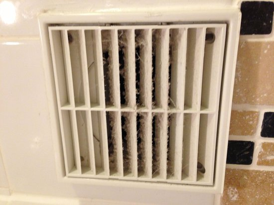 Westmead Hotel:                   Dirty air vent