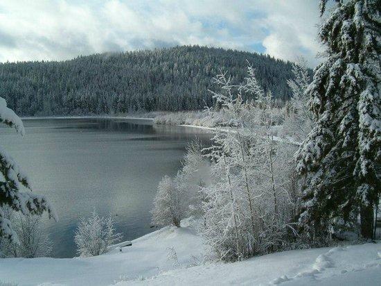 Northwood Lodge and Resort: Winter Lake