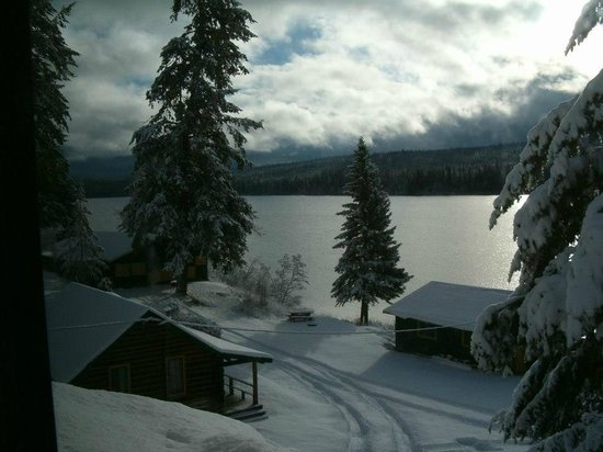 Northwood Lodge and Resort: Winter time at the lodge