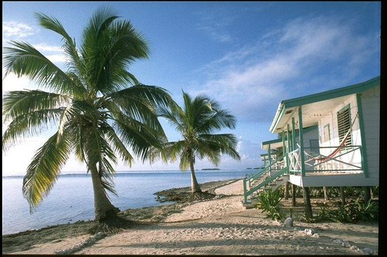 Oceanic Society Field Station : The Field Station has six oceanfront cabanas