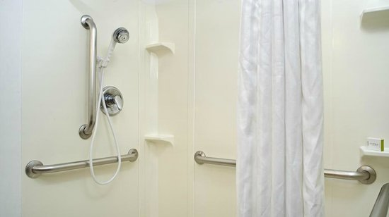 DoubleTree by Hilton Hotel Chicago - Schaumburg: Accessible Bathroom