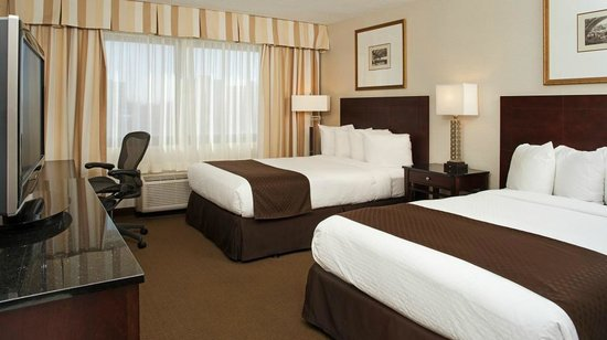 DoubleTree by Hilton Hotel Chicago - Schaumburg: Double Bedded Guestroom