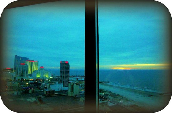 Bally's Atlantic City:                   View from Bally Tower