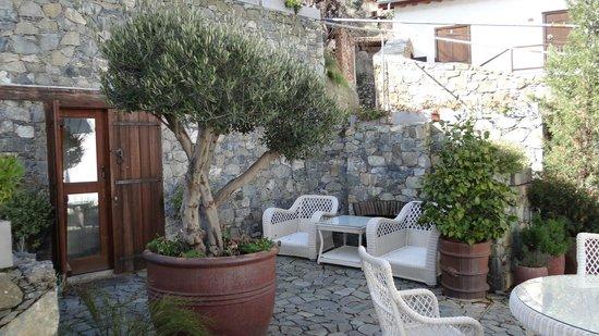 Casale Panayiotis: The beautiful courtyard of Troullino