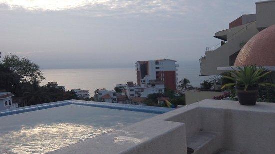 Casa Cupula:                   Rooftop again