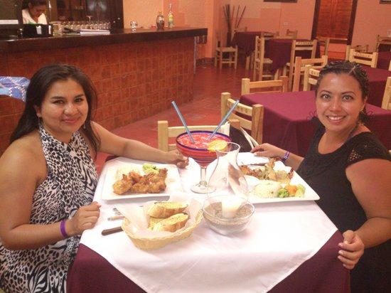 El Sazon del Aca:                   Cena exquisita!!