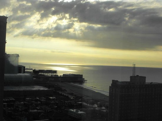 Tropicana Atlantic City: veiw from our corner room