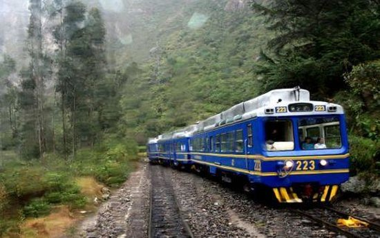 Belmond Sanctuary Lodge:                                     Train is the only way to get the Sanctuary