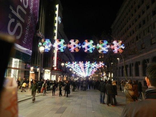 Hostal Barcelona Centro :                   las rambles