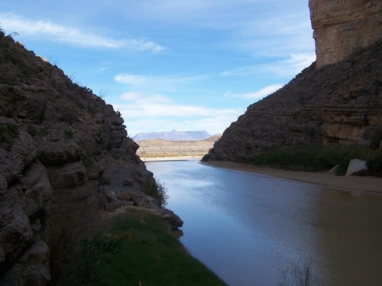 Looking east our of Santa Elena Canyon