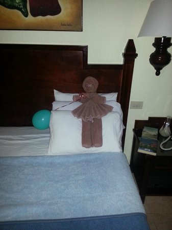 Hotel Riu Lupita:                   håndklædedyr