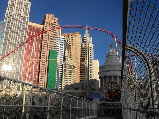 Monte Carlo Resort & Casino : We had a view of NY NY
