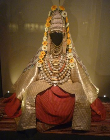 Israel Museum:                   A Jewish Yemenite bride- in the Jewish culture exhibit