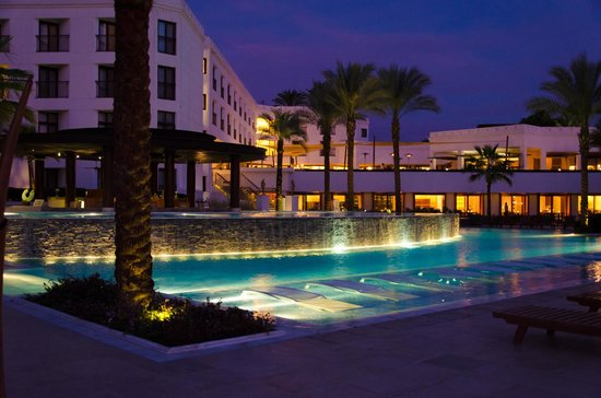 Hilton Luxor Resort & Spa:                   The Pool