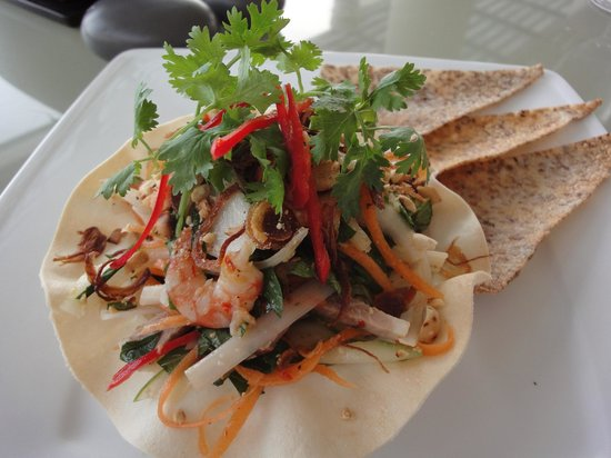 Princess D'An Nam Resort & Spa: Seafood salad