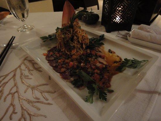 Princess D'An Nam Resort & Spa: Glorious banana flower salad
