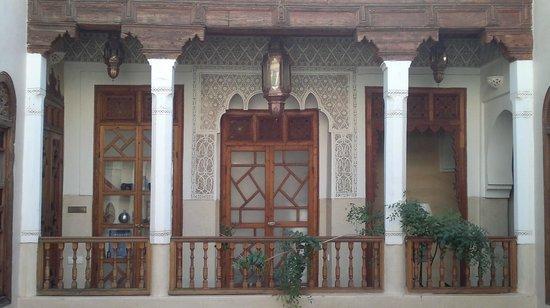 Riad Dar Zaya:                   Puerta habitaciones