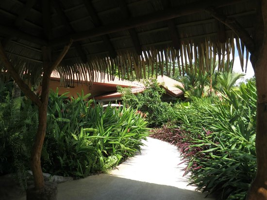 The Springs Resort and Spa: The enterance to the Palm Villa
