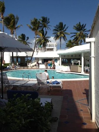 Pool picture of hotel casablanca san andres island for Hotel casa blanca san andres