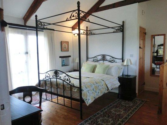 Hendrifton Farm:                   Granary Bedroom