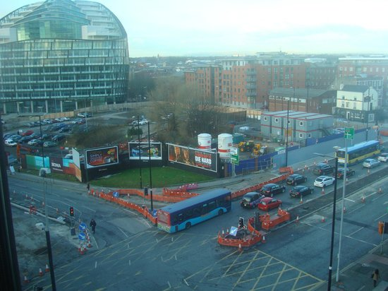 Crowne Plaza Manchester City Centre: View from our room.