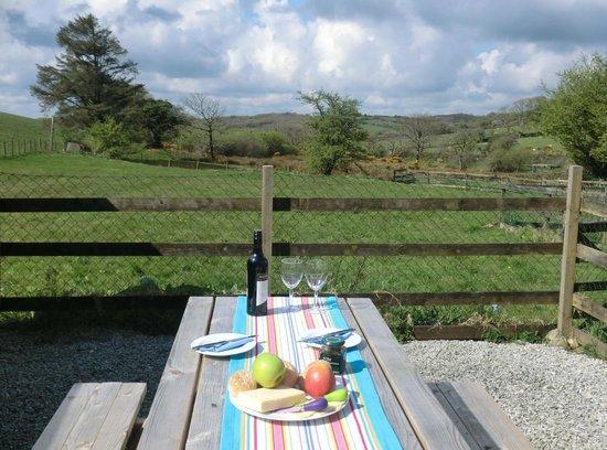 Hendrifton Farm:                   Granary - great bbq area!