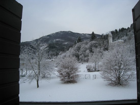 B&B Nel Verde: Panorama invernale