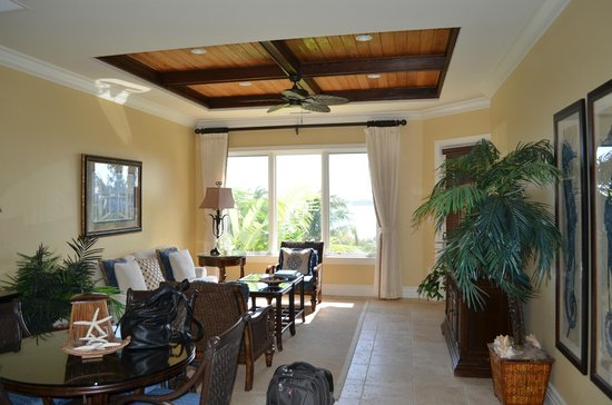 Grand Isle Resort & Spa:                   Large living room. Villa is very nice.