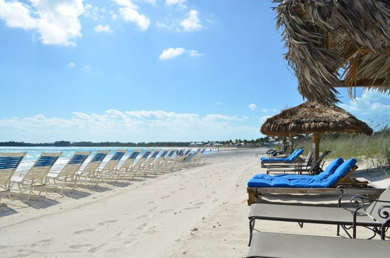 Grand Isle Resort & Spa:                   Beach area.