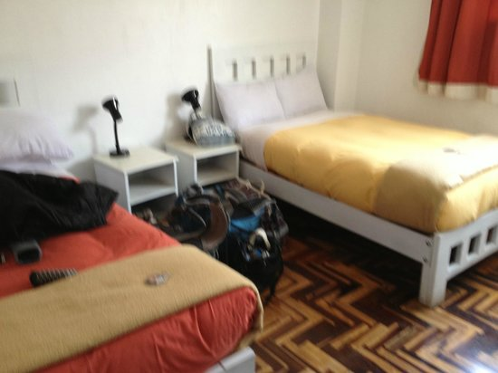 Pariwana Hostel Cusco:                   Private en suite room