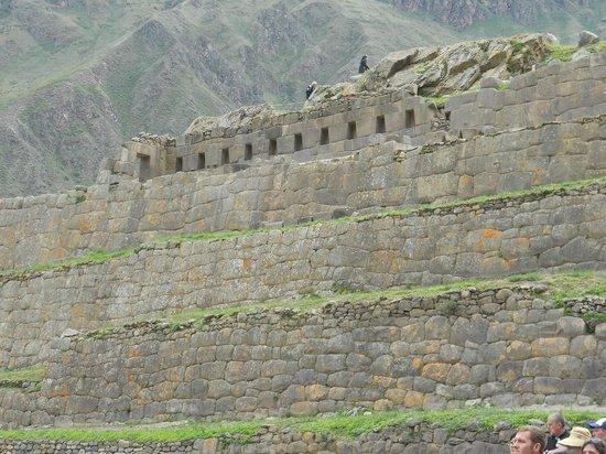 Templo de Ollantaytambo:                   Ollantaytambo