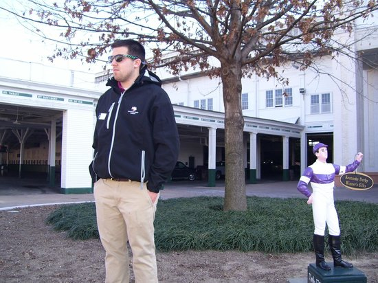 Kentucky Derby Museum: Ryan the Tour Guide