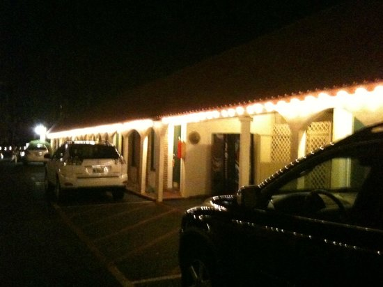 Austin Motel:                   Your own parking space just steps from your room
