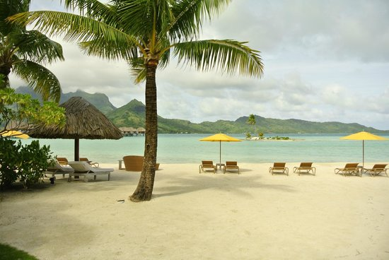 Four Seasons Resort Bora Bora:                   Beach