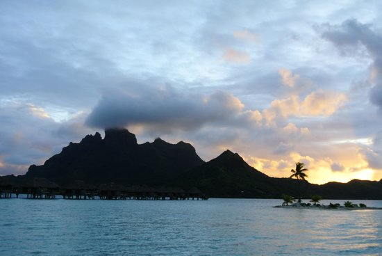 Four Seasons Resort Bora Bora:                   View