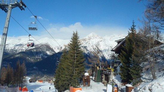 Hotel Gran Baita: On the slopes