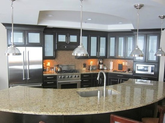 Waldorf Astoria Park City: Fully equipped kitchen in one bed residence