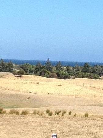 Normanville Hotel:                                                                         view from our room