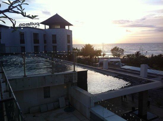 Pullman Bali Legian Nirwana: Sunset