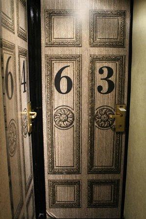 Hotel le Notre Dame: En esta habitación nos quedamos