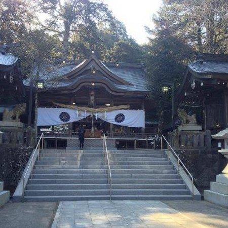 Sasamuta Shrine :                   豊後一宮  西寒多神社