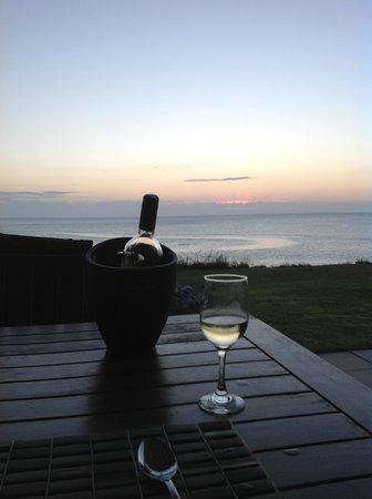 Seashore Bed & Breakfast:                   Dinner as the sun goes down