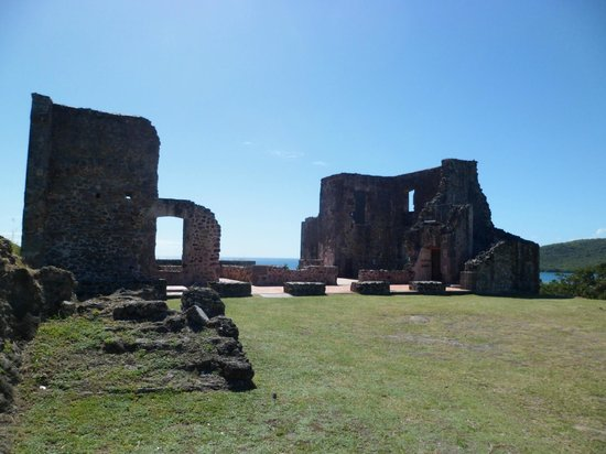Chateau Dubuc :                   Ruines