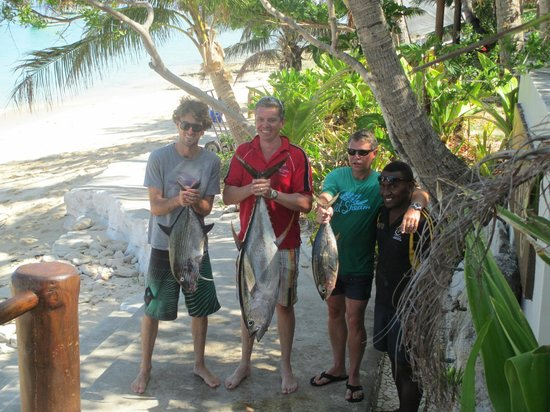 Tokoriki Island Resort:                   Fishing Trip